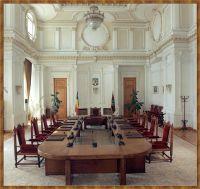Sala de Sedinte a Curtii Constitutionale a Romaniei